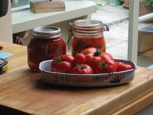 Tomatoes and Basil'