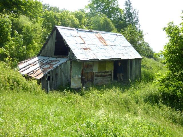 Shepherd's huts are very basic