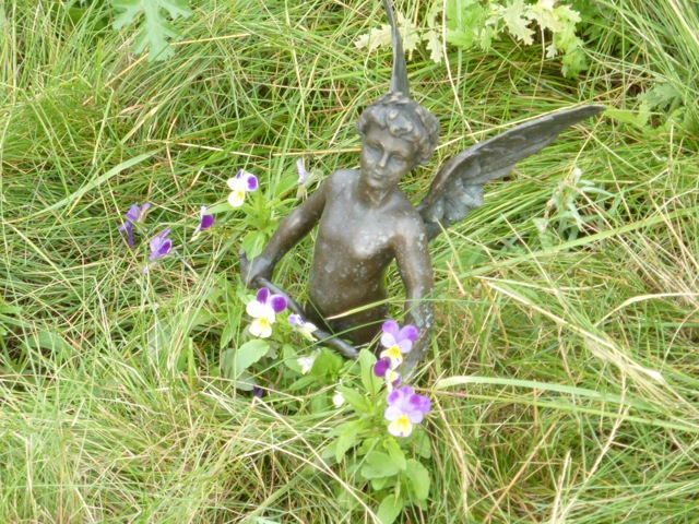 A fairy at the bottom of the garden