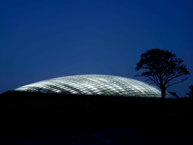 Another night shot of the great glasshouse