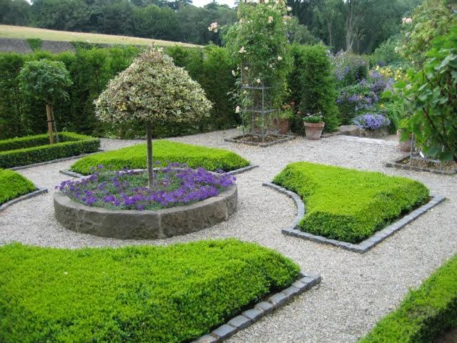 more symmetry in this formal garden