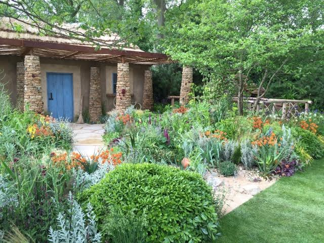 show garden from Chelsea 2015