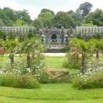 the gardens at Arundel are breathtaking