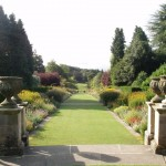 herbaceous border at Newby Hall