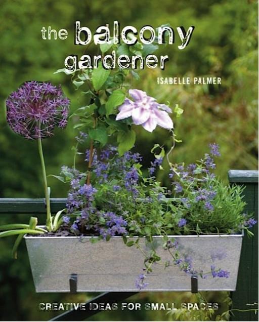 book cover for the balcony gardener