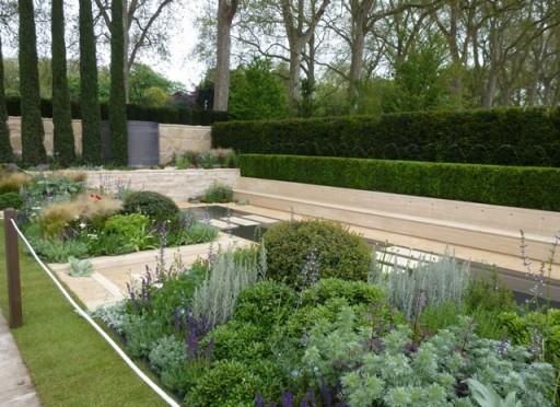 tom hoblyn's garden at Chelsea 2012