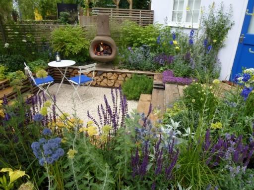 chiminea garden
