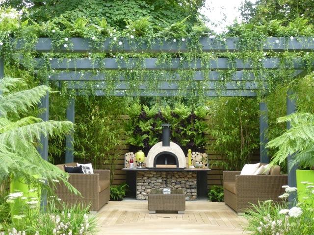 pizza-oven-garden | The Enduring Gardener