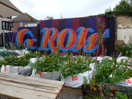 street art at the moveable feast garden