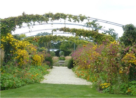 hoggin garden path
