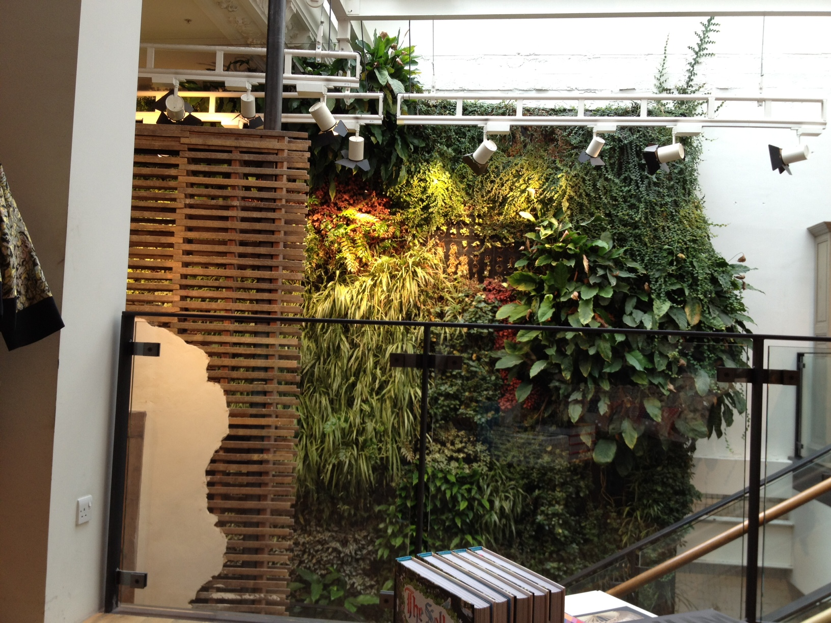 200 square metre living wall