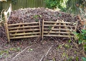 a well piled leafmold heap