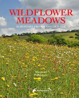 margaret pilkington's book cover on wildflower meadows