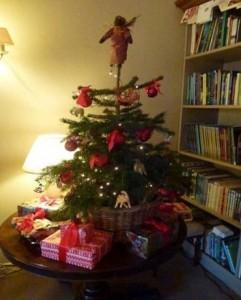 small Christmas tree for table top