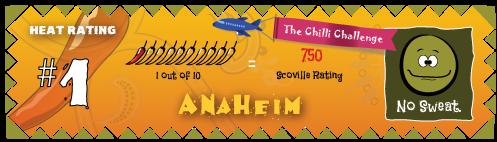 the chilli challenge