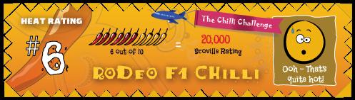 the chilli challenge rodeo f1 chilli
