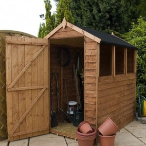 Choosing a good quality wooden shed the enduring gardener for Quality garden sheds