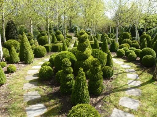 english topiary garden