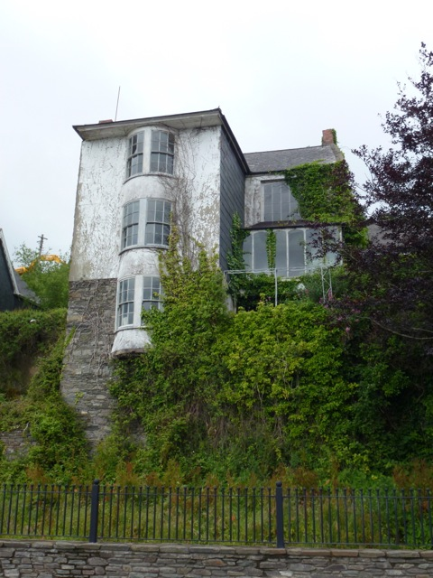 Faded but still grand house in Kinsale