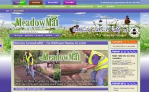 screenshot of meadowmat website