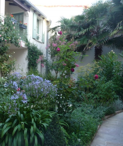 Courtyard garden design the enduring gardener for Small shady courtyard ideas