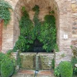 Arches, Rills and Fountains of the Alhambra Gardens