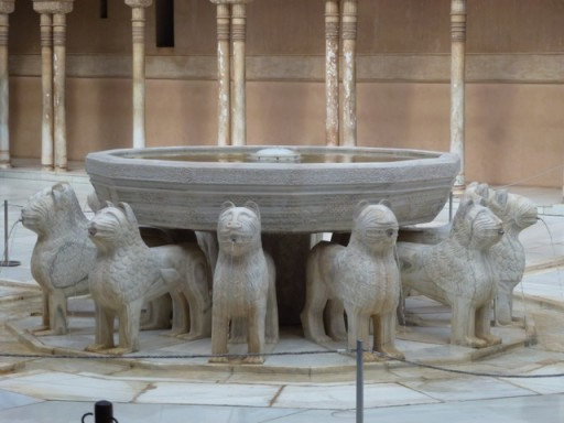 recently restored Court of Lions