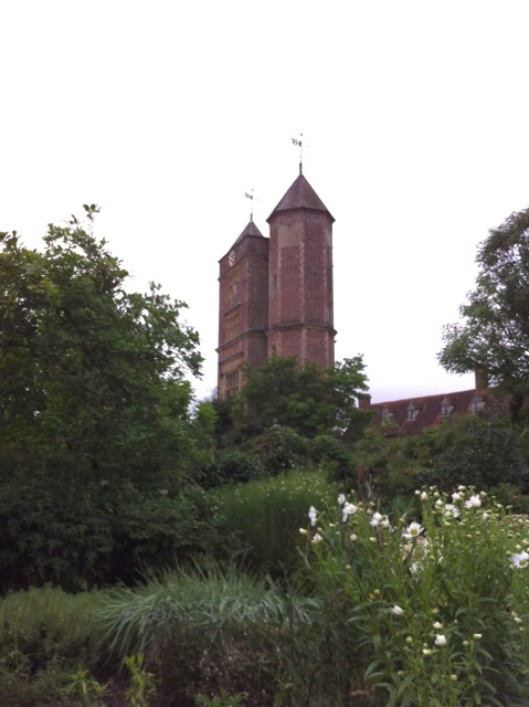 tall towers at Sissinghurst