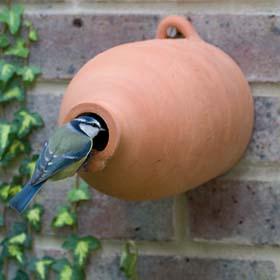 Terracotta-bird-nest