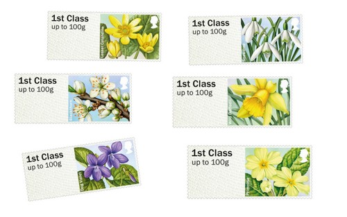 new stamp collection from the royal mail