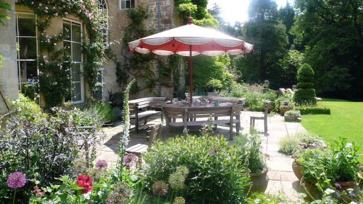 Garden Terrace at Belcombe