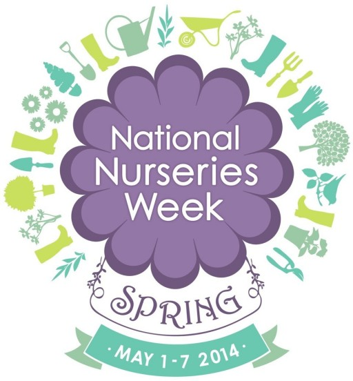 national nurseries week poster for May 2014