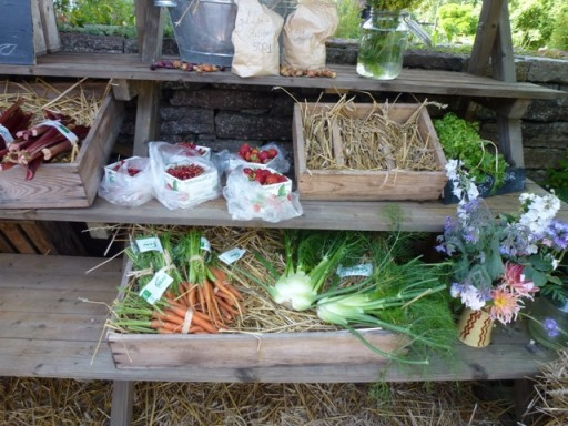 home grown produce for sale