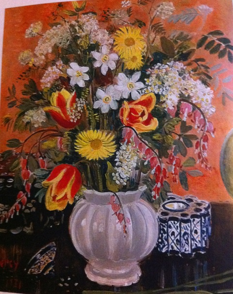more flowers in a vase by Arthur Percy