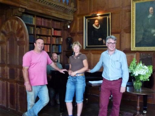 the team behind the gardens at Glyndebourne