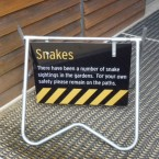more disconcerting snake signs