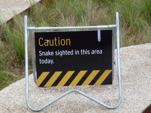 yet another snake sign