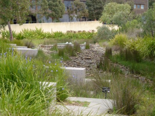 view of the melbourne botanic garden