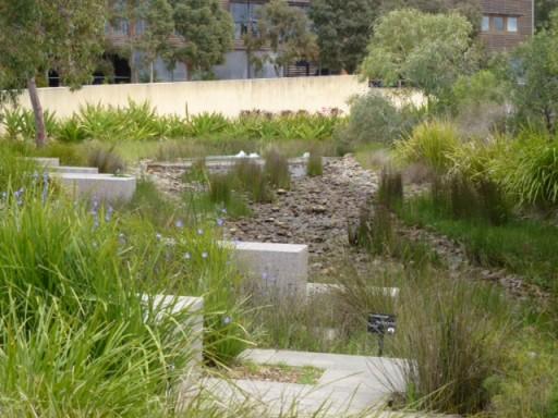 view of the melbourne botanic garden