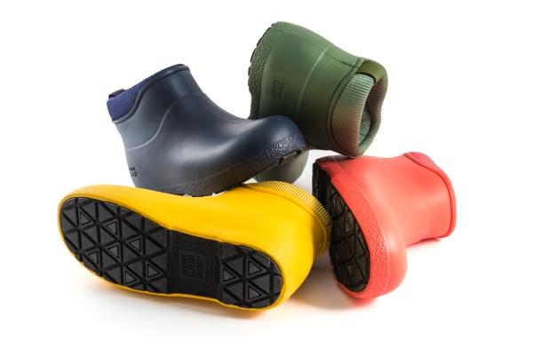 multi-coloured boot