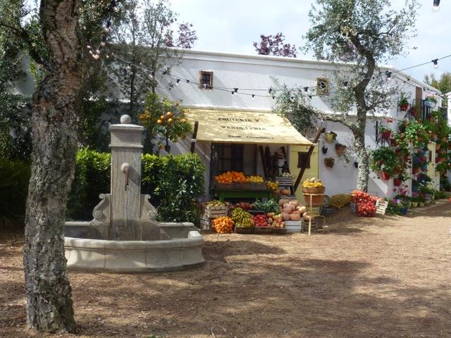 meditarannean garden at malvern show