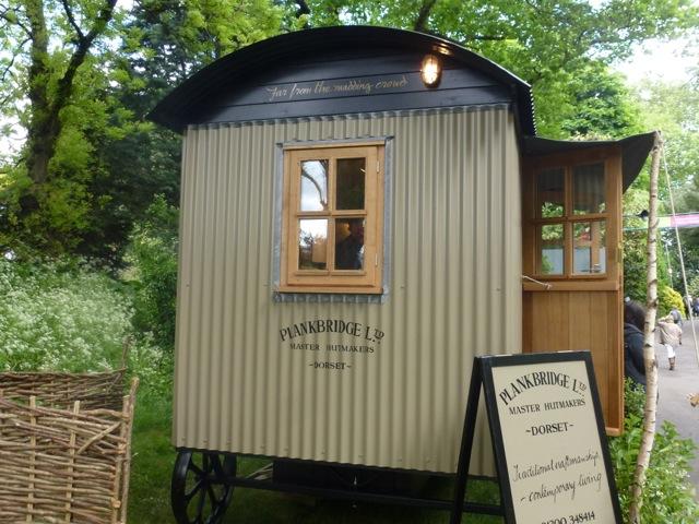 shepherds huts by Plankbridge