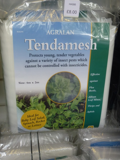 mesh for tender plants