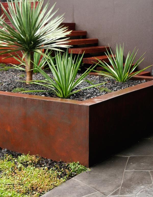 Cor-ten rusting steel Design Cycas Design
