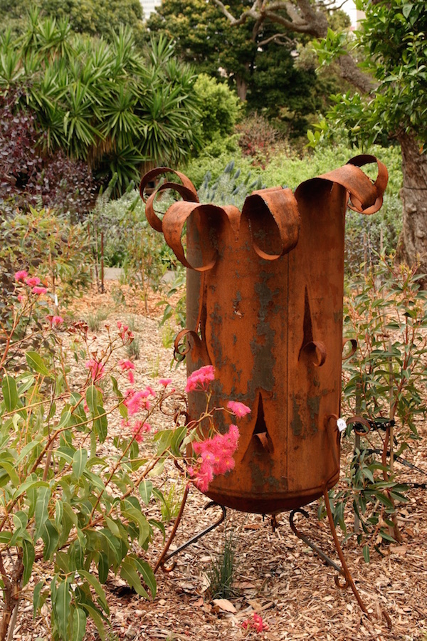 rusted Steel brazier