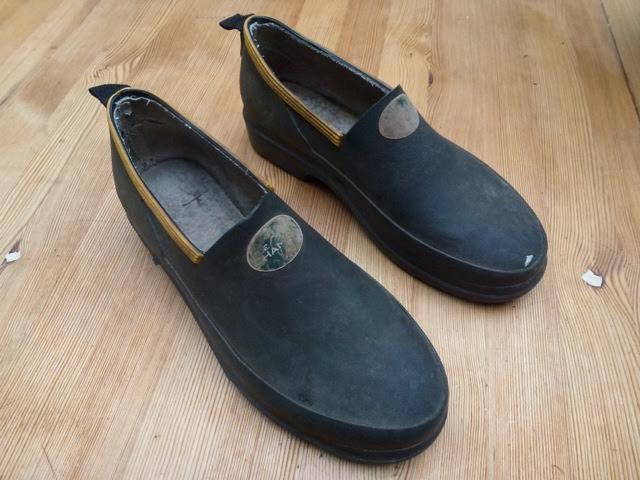 rubber gardening shoes from chameau
