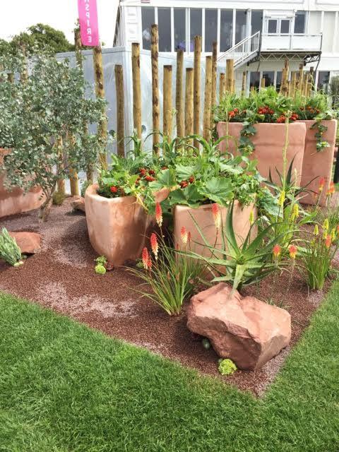 conceptual Malawi garden at Hampton