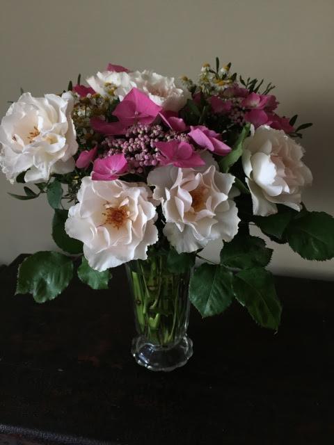 more flowers in vase