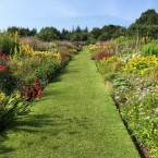 long border at Culzean Castle