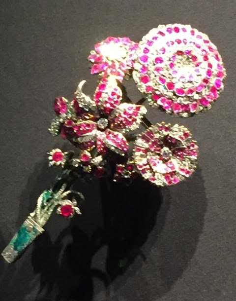 bright floral jewellery